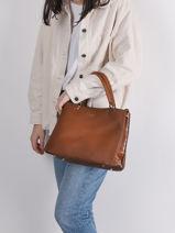 Sable Top-handle Bag Miniprix Brown sable 1-vue-porte