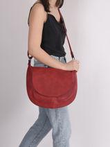 Classic Crossbody Bag Miniprix Red classic H6723-vue-porte