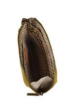 Portefeuille Vintage Cuir Mila louise Beige vintage 3155L-vue-porte