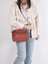 Crossbody Bag Naina Leather Pieces naina 17087872-vue-porte