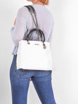 Sac Shopping Illy Guess Noir illy VG797006-vue-porte
