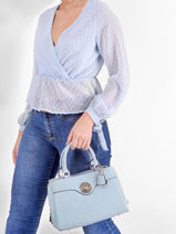 Dilla Handbag Guess Blue dilla SG796806-vue-porte