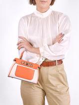 Cross Body Bag Uptown Chic Guess Orange uptown chic HG730173-vue-porte