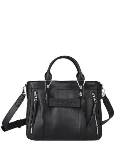 Longchamp Longchamp 3d perfecto Sacs porté main Noir