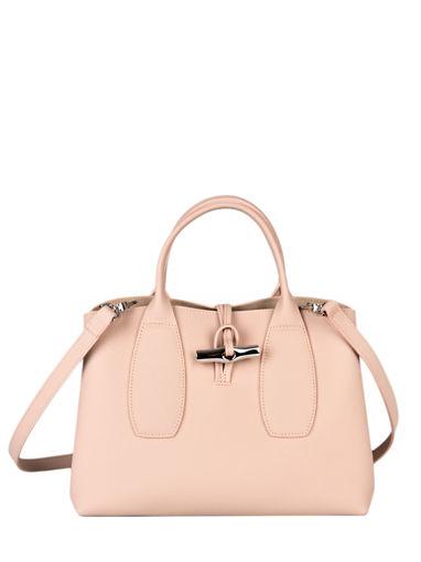Longchamp Roseau Handbag Pink