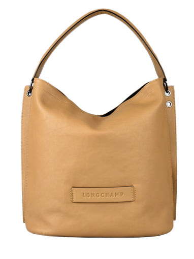 Longchamp Longchamp 3d Hobo bag Brown