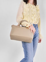 Manhattan Top-handle Bag Liu jo Brown manhattan AA1052-vue-porte