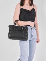 Longchamp Longchamp 3d perfecto Handbag Black-vue-porte