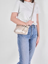 Shoulder Bag  Leather Milano Red G1421N-vue-porte