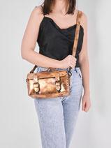 Shoulder Bag Vintage Leather Paul marius vintage ARTISANE-vue-porte
