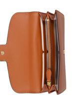 Leather Addie Flap Wallet Lauren ralph lauren Brown addie 24 32824913-vue-porte