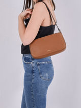 Crossbody Bag Tradition Leather Etrier Brown tradition EHER35-vue-porte