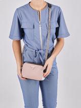 Noelle Crossbody Bag Guess Pink noelle VG787914-vue-porte