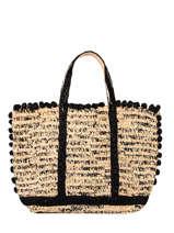 Raffia Le Cabas Tote Bag Vanessa bruno Beige cabas raphia 76V40414