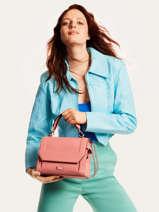 Top Handle S Ninon Leather Lancel Pink ninon A09221