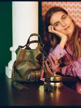 Small Tote Bag Premier Flirt Lancel Green premier flirt A10109