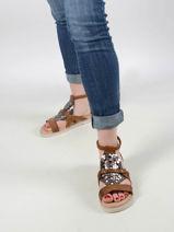 Sandales en cuir-MJUS-vue-porte