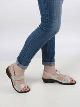 Sandals getha-MEPHISTO-vue-porte