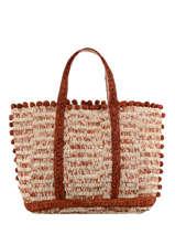 Raffia Le Cabas Tote Bag Vanessa bruno cabas raphia 76V40414