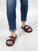 Th essential slippers-TOMMY HILFIGER-vue-porte