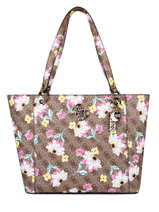 Noelle Floral Shoulder Bag Guess Brown noelle SF787923