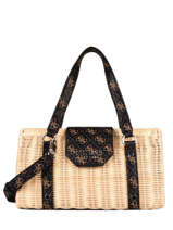 Straw Paloma Baguette Bag Guess Beige paloma SG811206