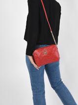 Sicura Crossbody Bag Liu jo Red sicura AA1331-vue-porte