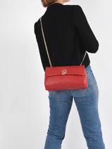 Sicura Crossbody Bag Liu jo Red sicura AA1340-vue-porte