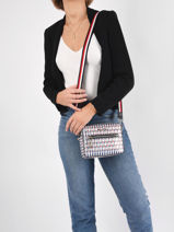 Shoulder Bag Iconic Tommy Tommy hilfiger iconic tommy AW10035-vue-porte