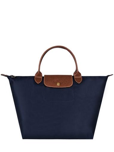 Longchamp Le pliage Sacs porté main Bleu
