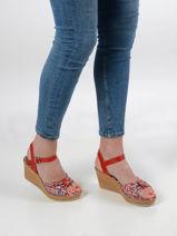 Sandals wedge heel-TAMARIS-vue-porte