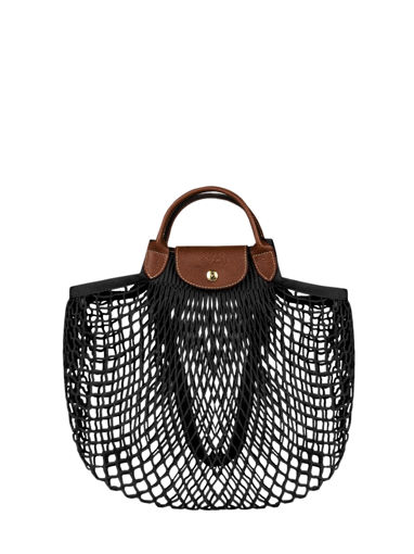 Longchamp Le pliage filet Hobo bag Beige