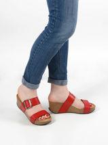 Sandals so rock in leather-PLAKTON-vue-porte