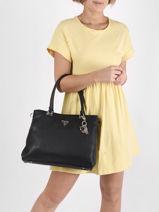 Handbag Destiny Guess Black destiny VG787810-vue-porte