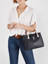 Leather City Mae Top-handle Bag Lancaster Black city mae 26-vue-porte