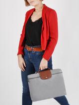 Longchamp Briefcase-vue-porte