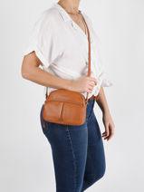 Soft Vintage Nova Crossbody Bag Lancaster Brown soft vintage nova 29-vue-porte