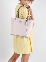 Noelle Tote Bag Guess Pink noelle PD787923-vue-porte