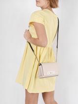 Shoulder Bag Uptown Chic Guess Pink uptown chic VG730178-vue-porte