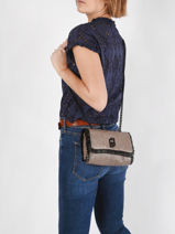 Sicura Crossbody Bag Liu jo Black sicura AA1328-vue-porte