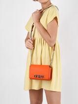 Uptown Chic Crossbody Bag Guess Orange uptown chic VY730178-vue-porte