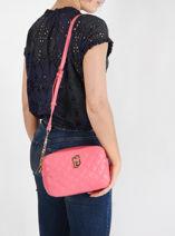 Sicura Crossbody Bag Liu jo Pink sicura AA1331A-vue-porte