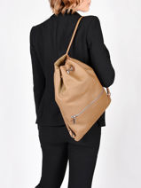 Leather Oslo Backpack Nathan baume Brown nathan 37-vue-porte