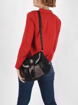 Crossbody Bag Basic Miniprix Black basic AG116-vue-porte