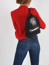 Basic Backpack Miniprix Black basic AG1771-vue-porte