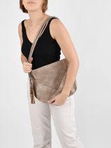 Shoulder Bag Aude Miniprix Beige aude MD8214-vue-porte