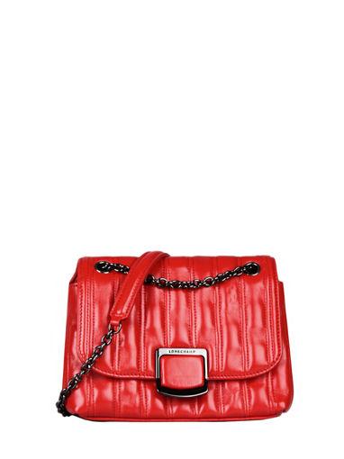 Longchamp Brioche Messenger bag Red