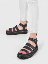 Sandales semelle compensée blaire hydro-DR MARTENS-vue-porte