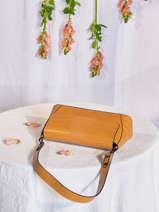 Leather Croco Shoulder Bag Milano Brown CR20122