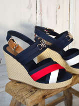 Wedge sandals-TOMMY HILFIGER